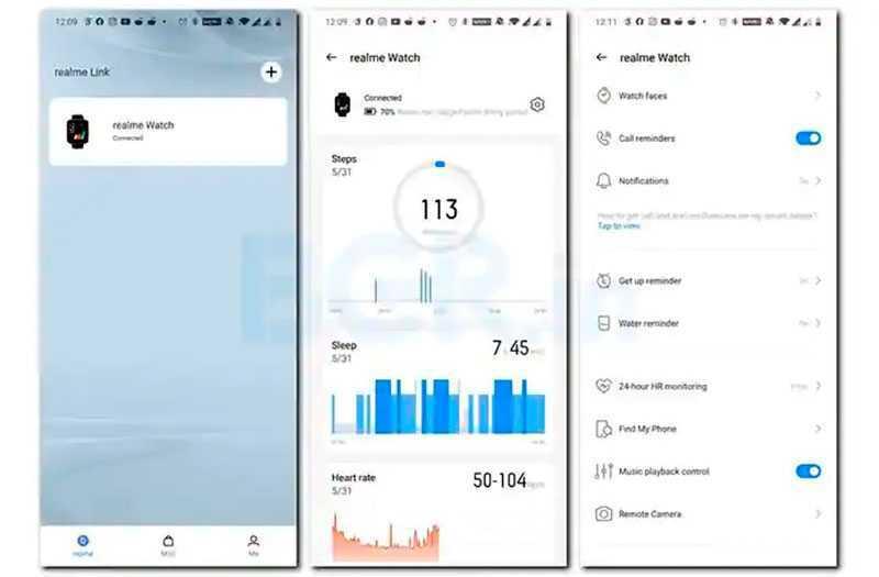 Realme Watch как фитнес-трекер