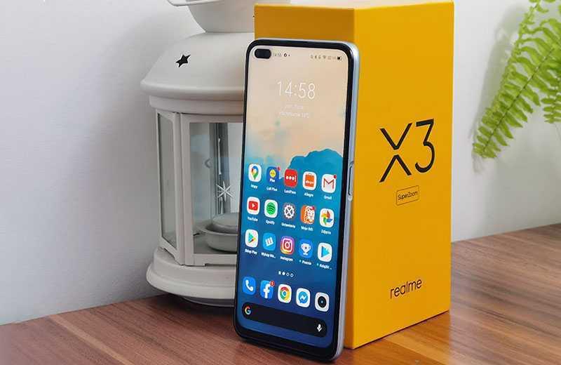Realme X3 SuperZoom дисплей