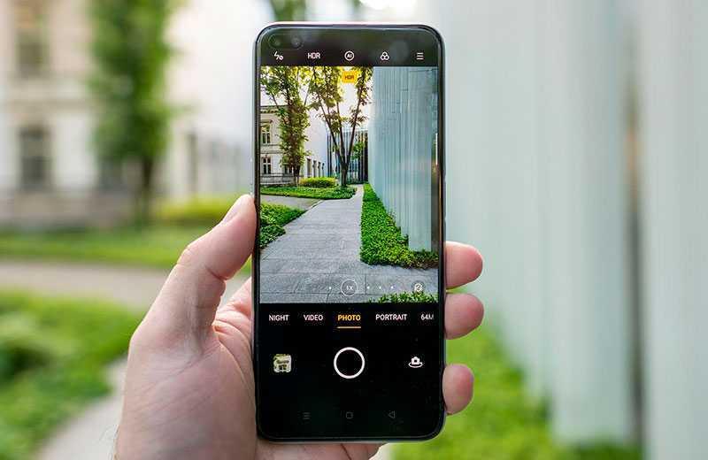Realme X3 SuperZoom ПО камеры