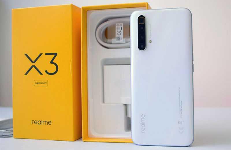 Realme X3 SuperZoom из коробки