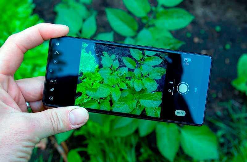 Sony Xperia L4 съёмка