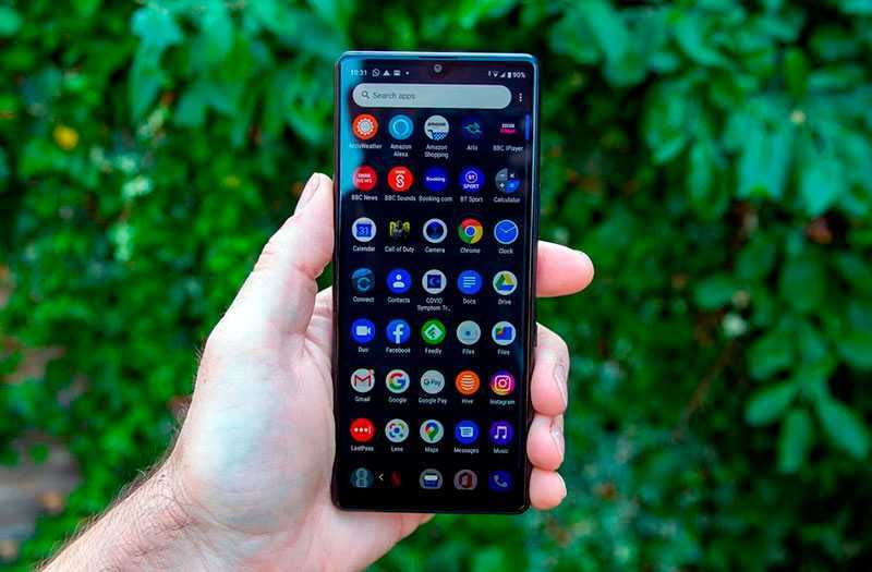 Sony Xperia L4 ОС