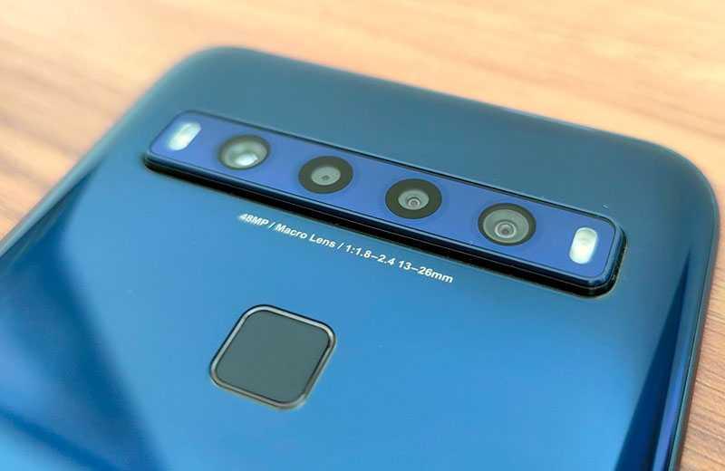 TCL 10L камеры