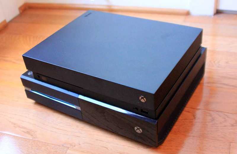Улучшения Xbox One X