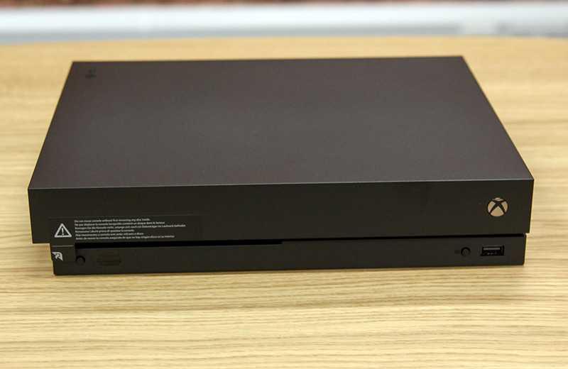 Консоль Xbox One X