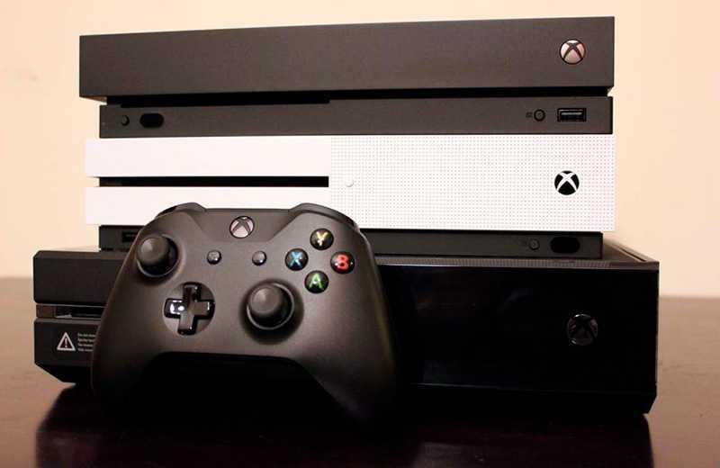 Сравнение Xbox One X