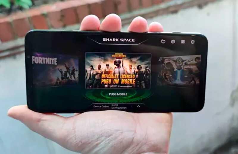 Xiaomi Black Shark 3 игровой режим