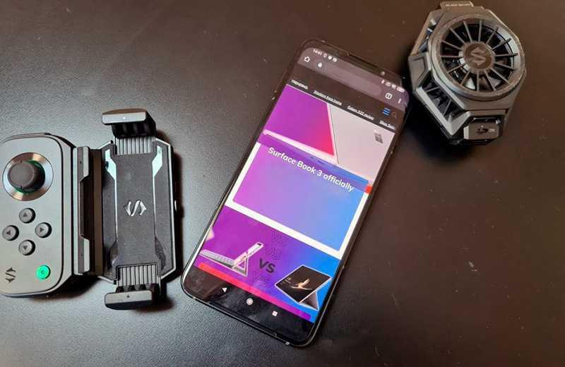Xiaomi Black Shark 3 панель