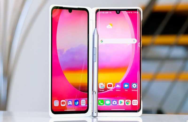 LG Velvet ворой экран