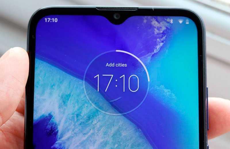 Motorola G8 Power Lite дисплей
