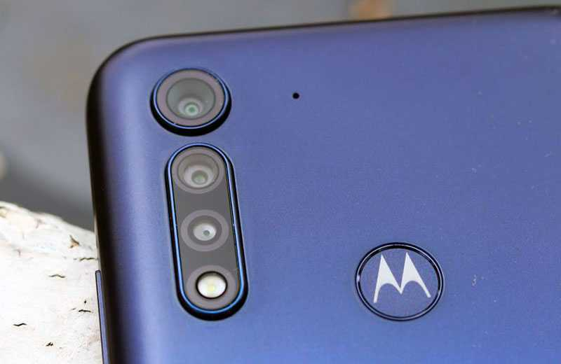 Motorola G8 Power Lite камера