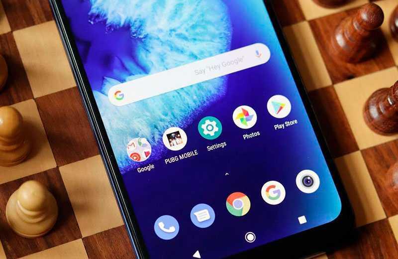 Motorola G8 Power Lite экран