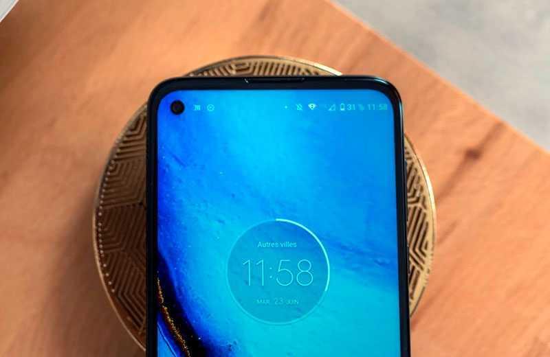 Motorola Moto G Pro дисплей
