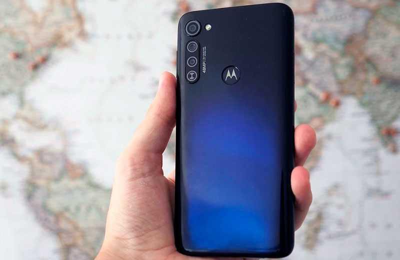 Motorola Moto G Pro сзади