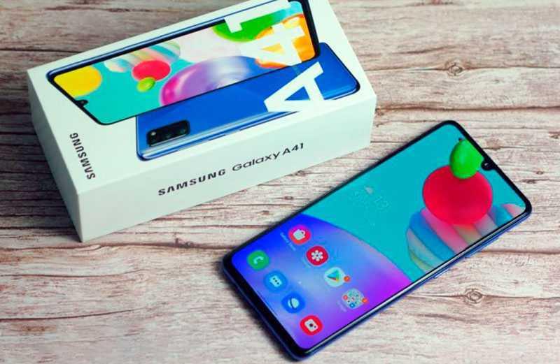 Samsung Galaxy A41 обзор