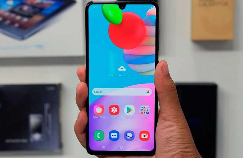 Дисплей Samsung Galaxy A41