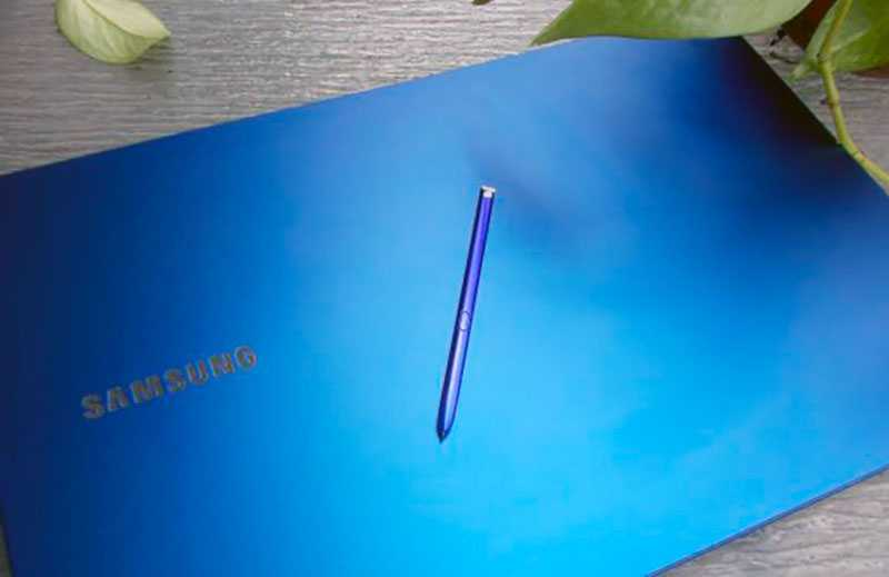 Samsung Galaxy Book Flex стилус