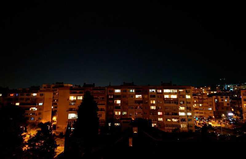 Sony Xperia 1 II ночная съёмка
