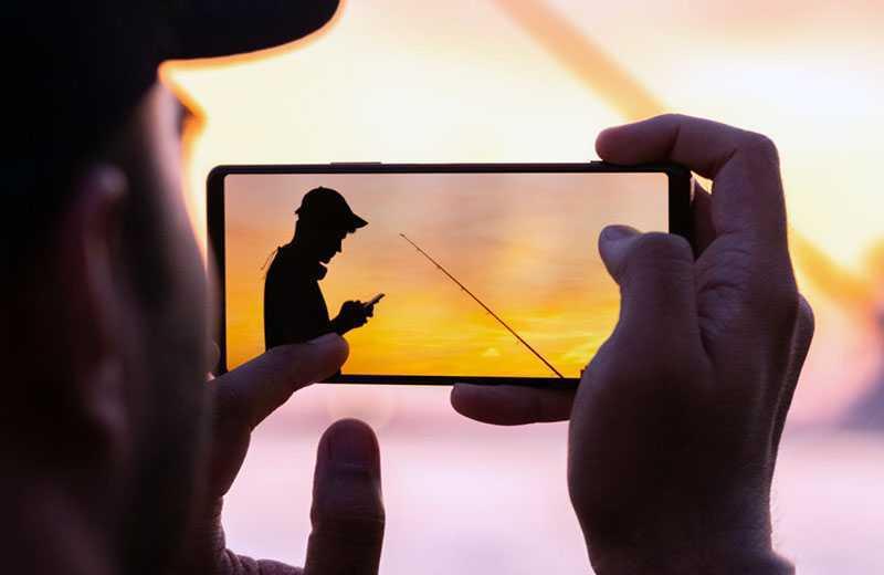 Sony Xperia 1 II съёмка видео