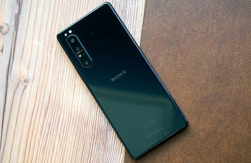 Sony Xperia 1 II дизайн