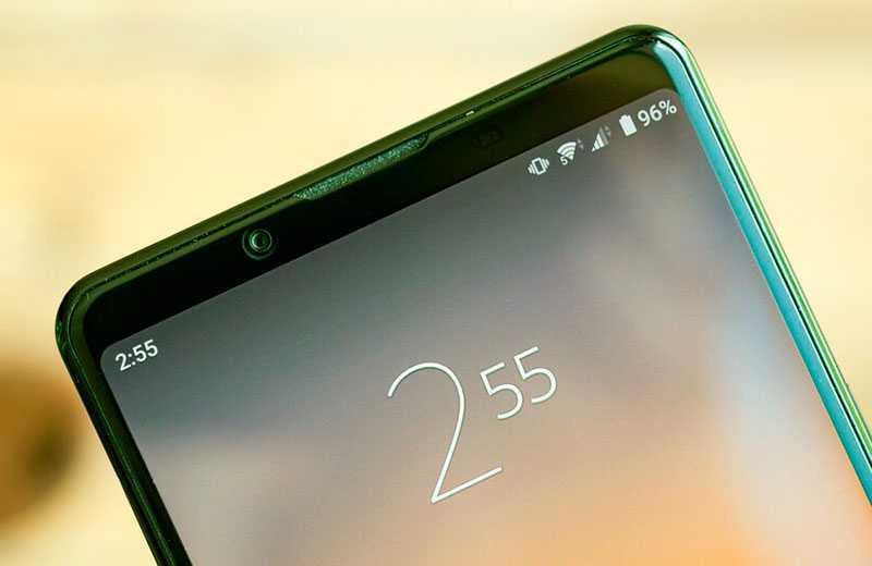 Sony Xperia 1 II дисплей