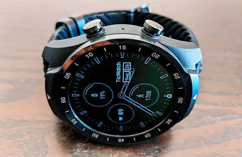 TicWatch Pro 2020 умные часы
