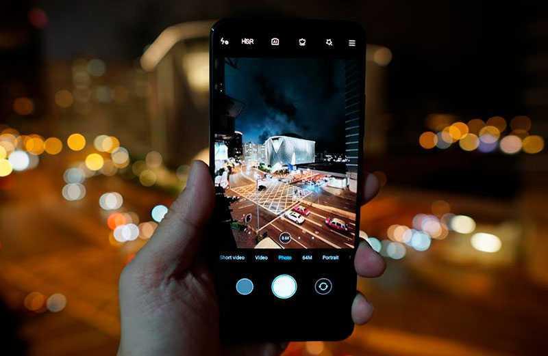 Xiaomi Poco F2 Pro ночной режим