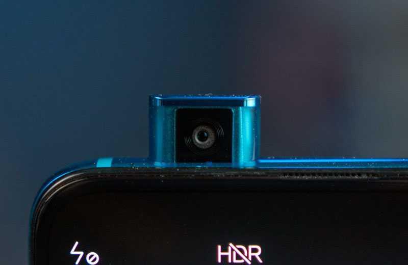 Xiaomi Poco F2 Pro передняя камера