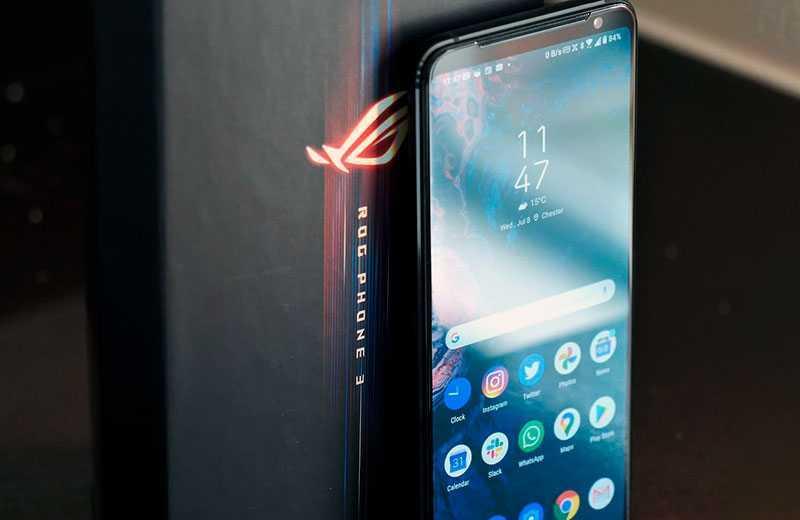 Asus ROG Phone 3 панель