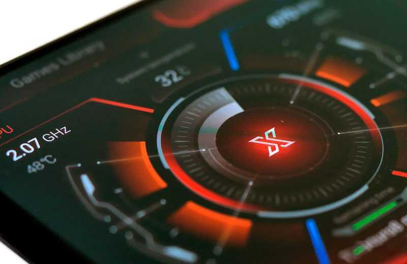 Asus ROG Phone 3 интерфейс