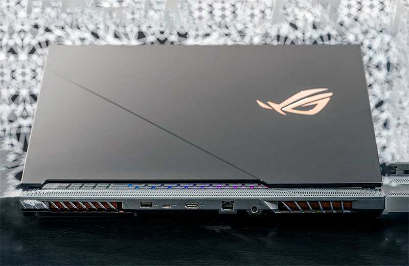 Обзор Asus ROG Strix Scar 17 (G732) игрового ноутбука — Отзывы TehnObzor