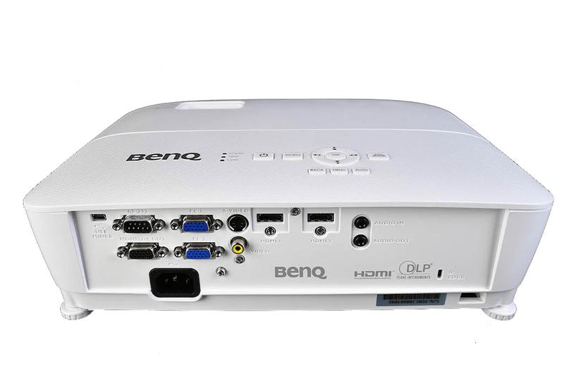 BenQ TH535 разъёмы и порты
