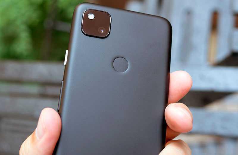 Google Pixel 4a камеры