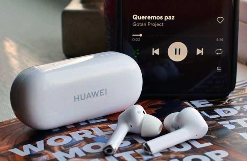 Huawei FreeBuds 3i звук