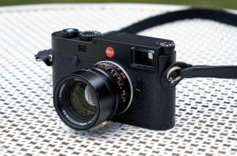 Обзор Leica M10-R: классический дизайн и качественные фото — Отзывы TehnObzor
