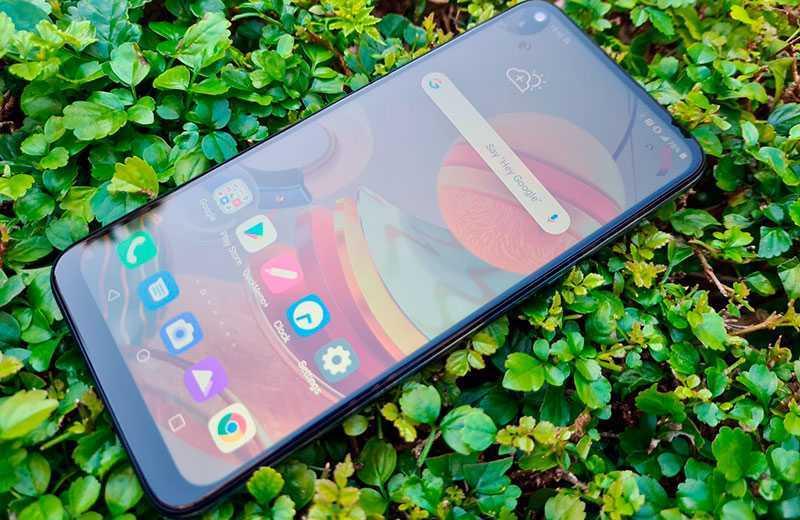 LG K61 дисплей