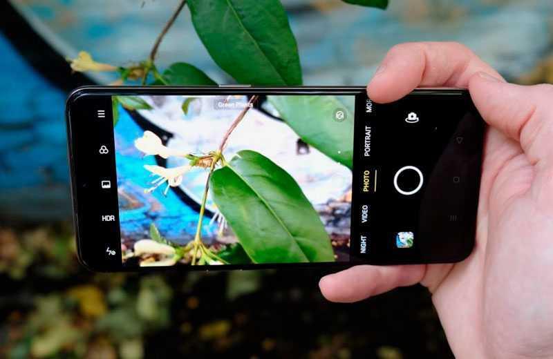 Камеры Oppo Find X2 Lite