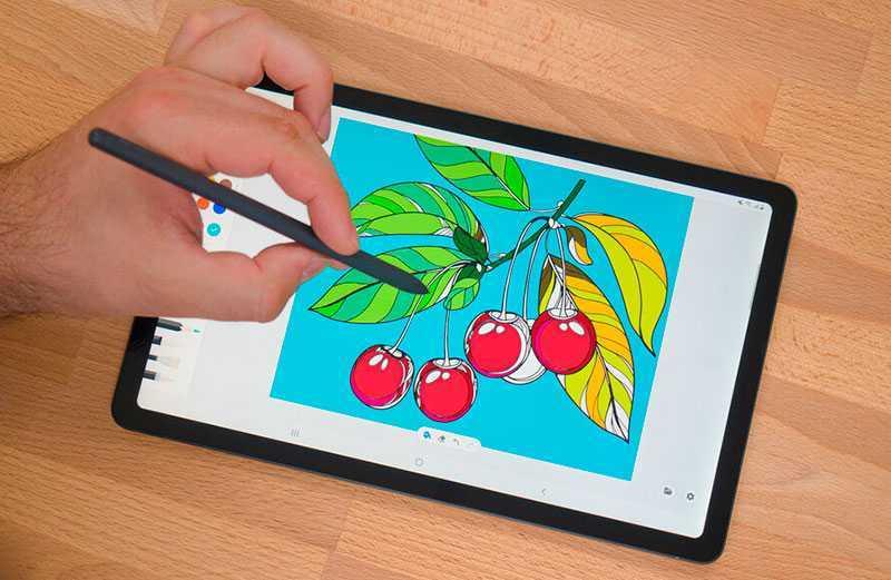Samsung Galaxy Tab S6 Lite панель