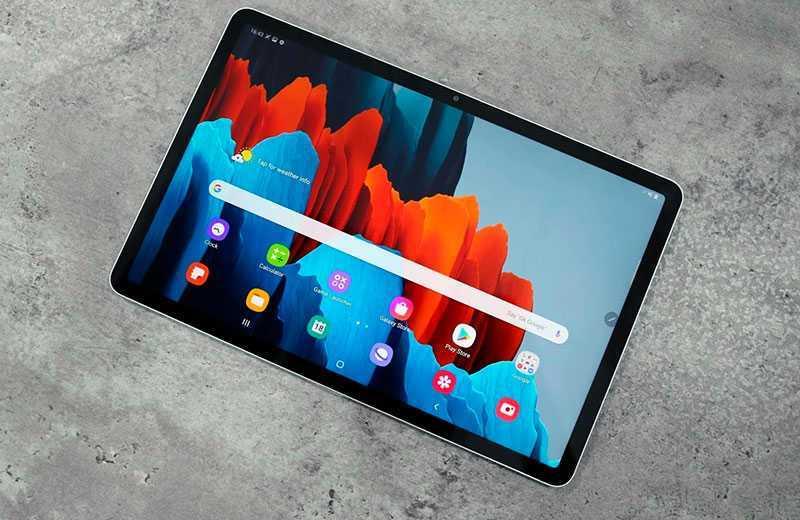 Samsung Galaxy Tab S7 экан
