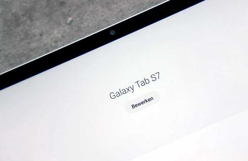 Samsung Galaxy Tab S7 камеры