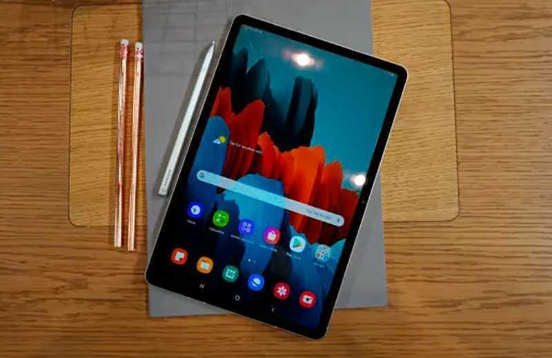 Samsung Galaxy Tab S7 ОС