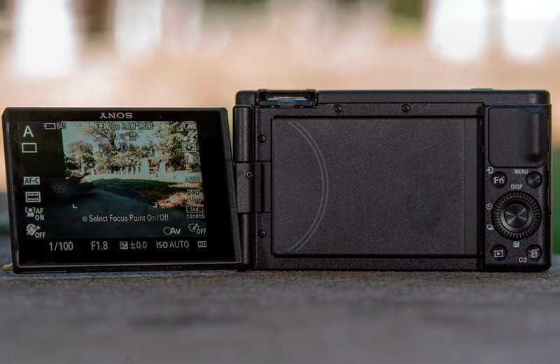 Sony ZV-1 экран