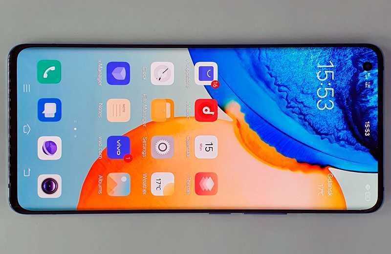 Vivo X50 Pro экран