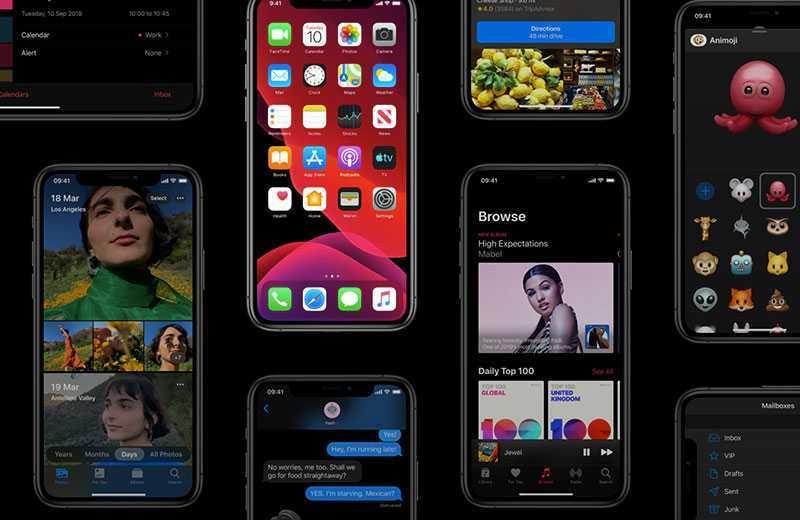 Apple iOS 13 производительность