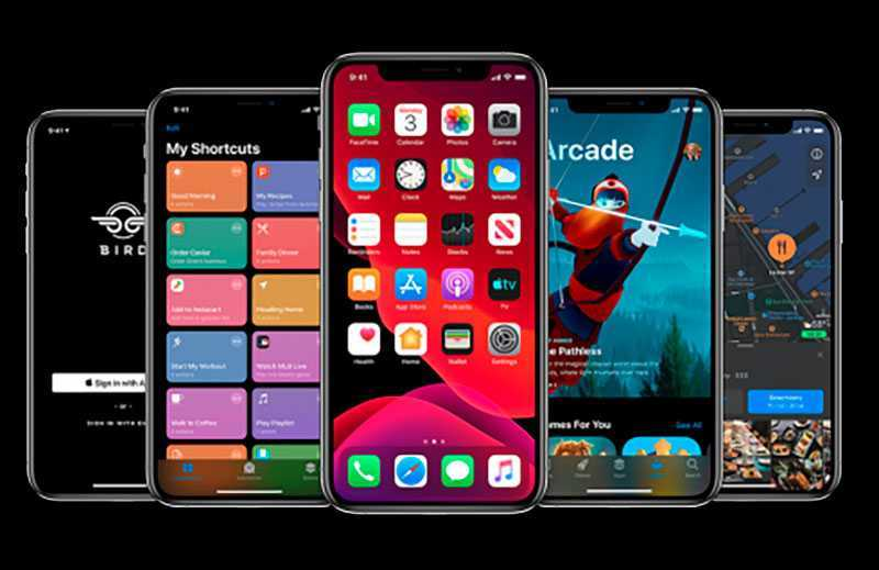Apple iOS 13 ПО