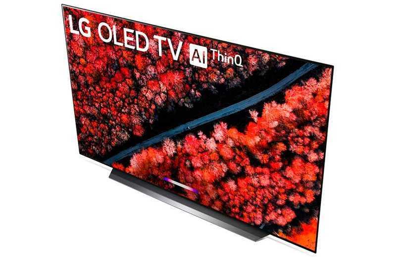 LG C9 OLED мультимедиа