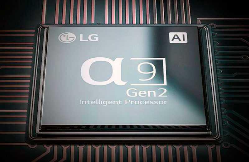 LG C9 OLED чип