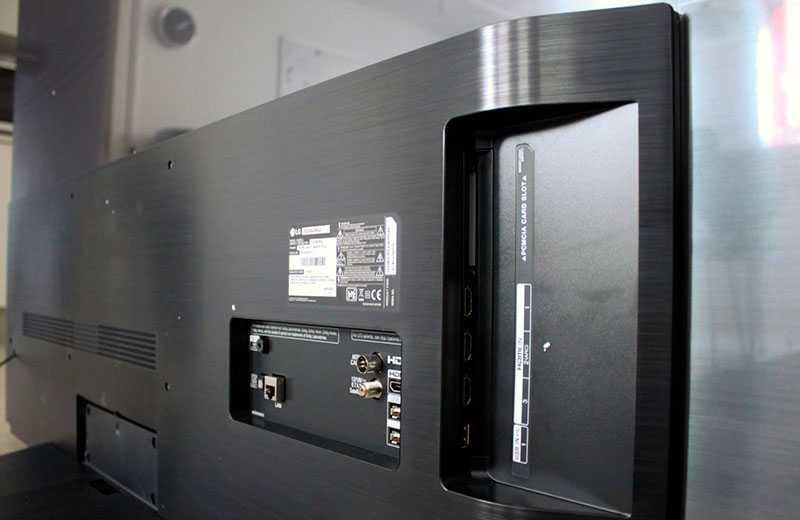 LG C9 OLED разъёмы