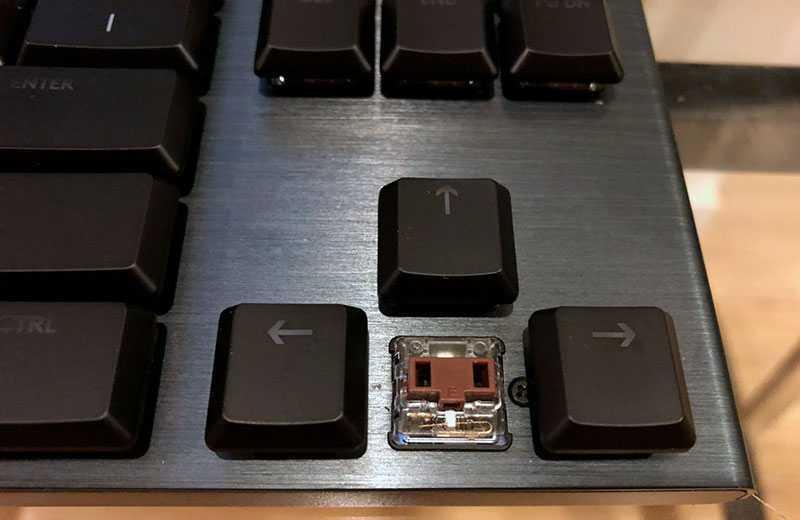 Logitech G915 TKL типы клавиш