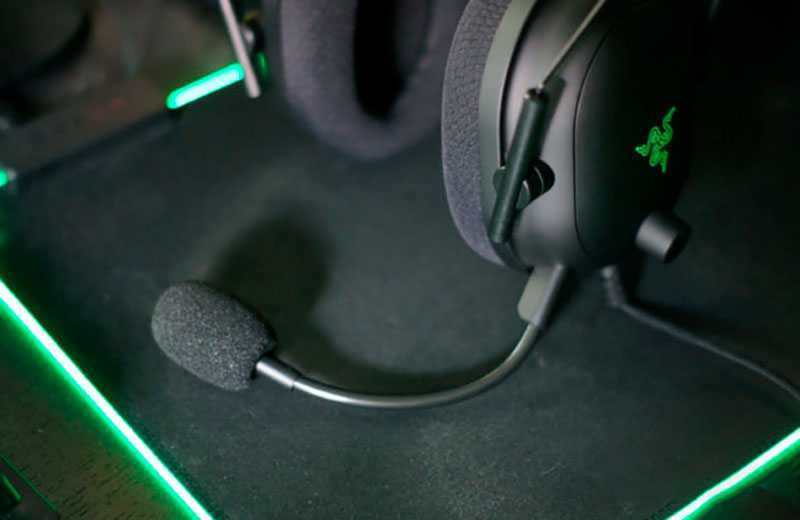 Razer Blackshark V2 микрофон
